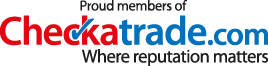 Proud members of Checkatrade.com - Where reputation matters